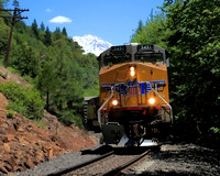 #234B - TRAIN BELOW MT SHASTA #2 TC (1:1.25)