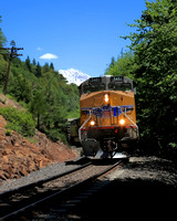#234D - TRAIN BELOW MT SHASTA  #2 TC (1:1.25)