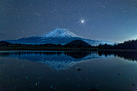 1E3A4915-MT SHASTA BY STARLIGHT  with star