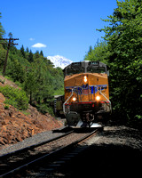 #234C - TRAIN BELOW MT SHASTA #2 (1:1.25)