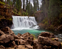 #350 - MIDDLE FALLS ON THE McCLOUD #11 TS (1:1.25)