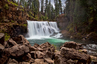 #351 - MIDDLE FALLS ON THE McCLOUD #12 TA (1:1.5)